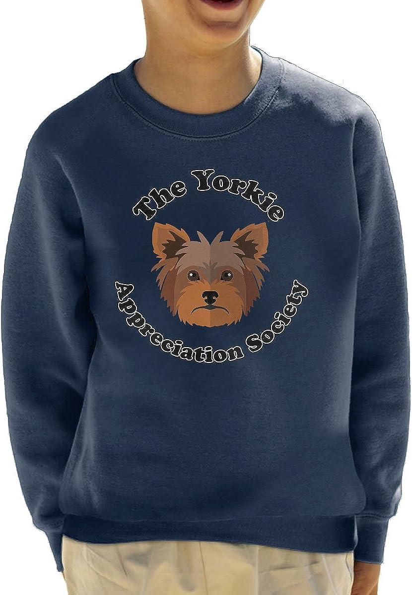 The Yorkie Appreciation Society Kids Sweatshirt