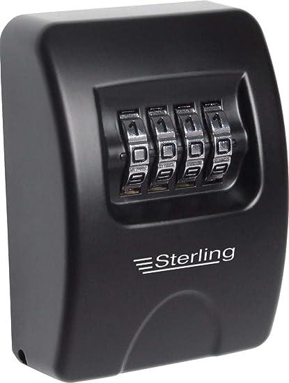 Sterling Locks - Caja de seguridad para llaves (combinación, capacidad para 2 llaves)