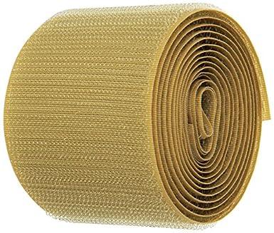 Standard Back VELCRO 1023-AP-PB//H Beige Nylon Woven Fastening Tape 3//4 Wide 30 Length Hook Type