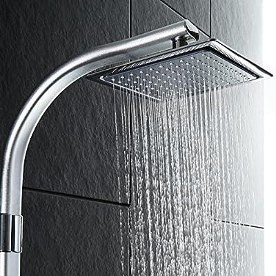 TecTake Conjunto de ducha con rociador manual modelo | Cabezal de ...