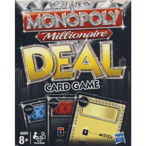 - Hasbro Parker Brothers Monopoly Millionaire Deal
