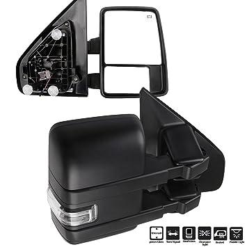 Amazon.com: Espejos retrovisores para Ford F150 con luces ...