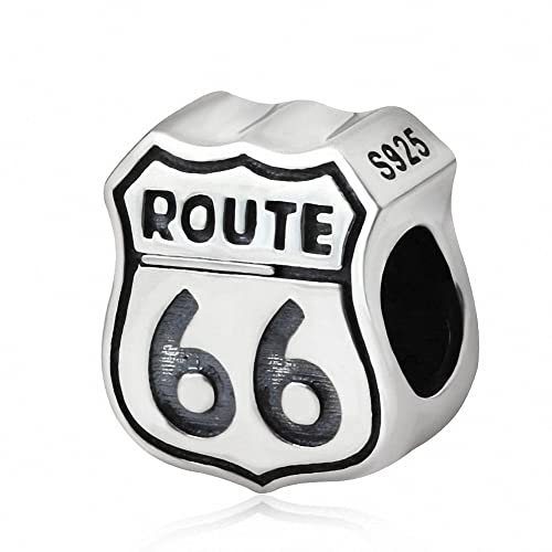 Amazon.com: Xuthus charms ruta 66 cartel estilo europeo en ...
