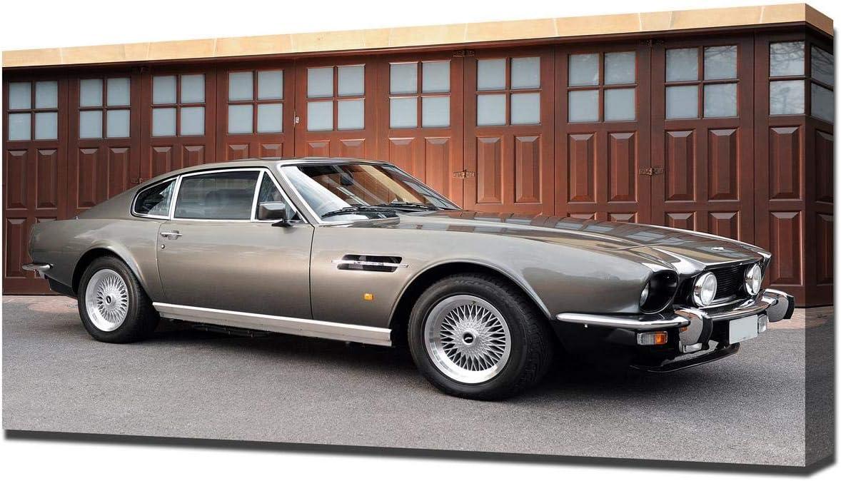 Amazon De Lilarama 1979 Aston Martin V8 Vantage V5 Art Leinwandbild Kunstdrucke Gemälde