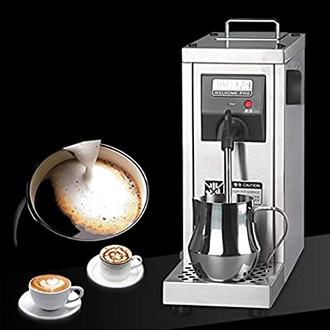 ZGUO Comercial automático Eléctrico espumador de Leche Acero Inoxidable Calentador de café Chocolate Leche de Vapor