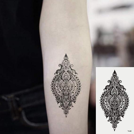 Oottati 2 Hojas Pequeño Lindo Tatuaje Temporal Tattoo Van Gogh ...