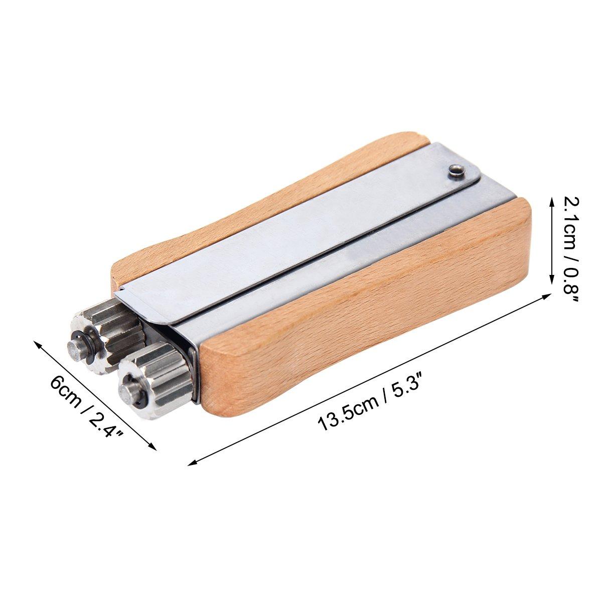 Wabenzieher Zange mit Holzgriff aus Edelstahl Rahmen Klammer Imkereibedarf