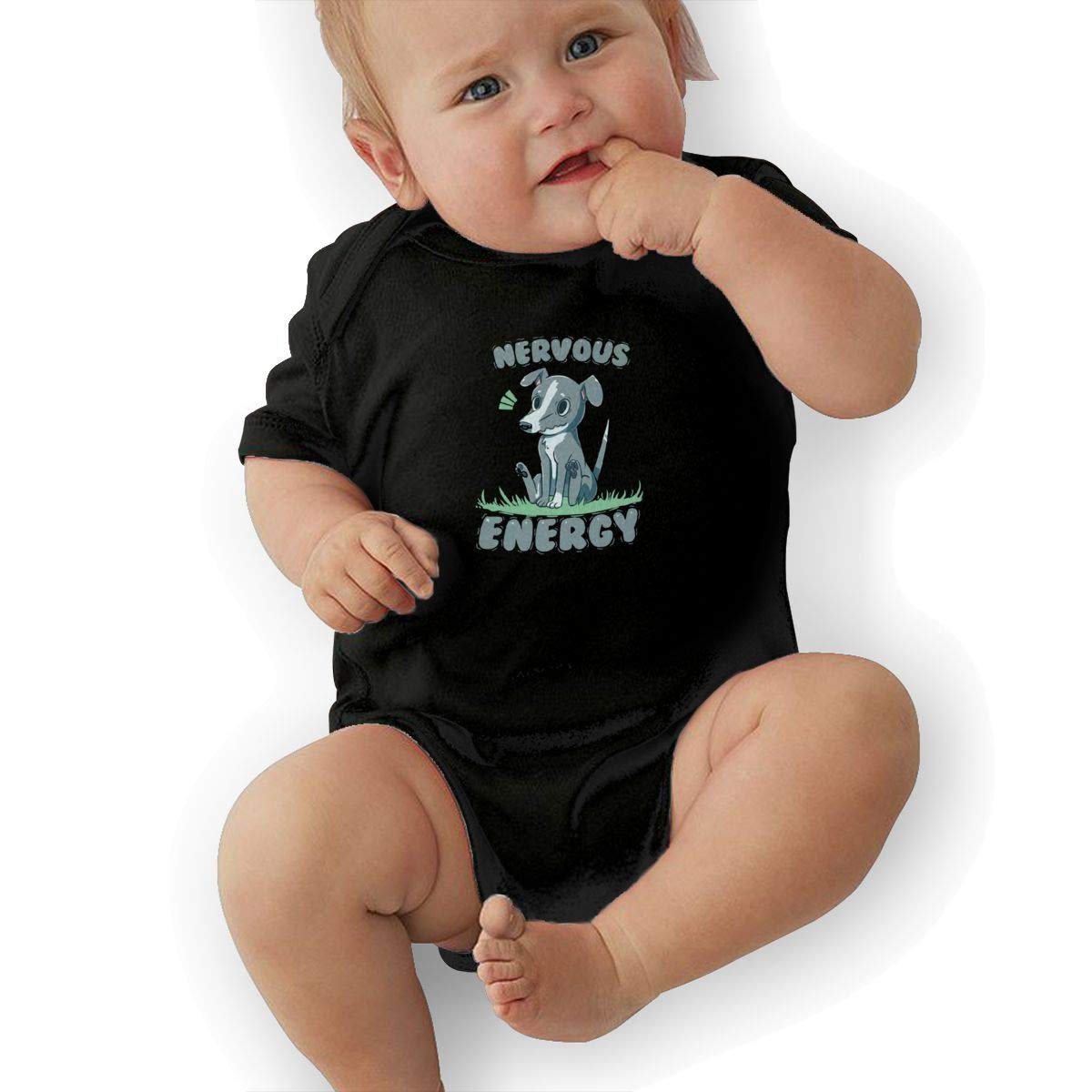 Bodysuits Clothes Onesies Jumpsuits Outfits Black Nervous Energy Greyhound Baby Pajamas
