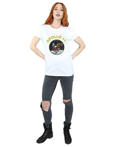 NASA Mujer Classic Apollo 11 Camiseta del Novio Fit: Amazon.es: Ropa y accesorios