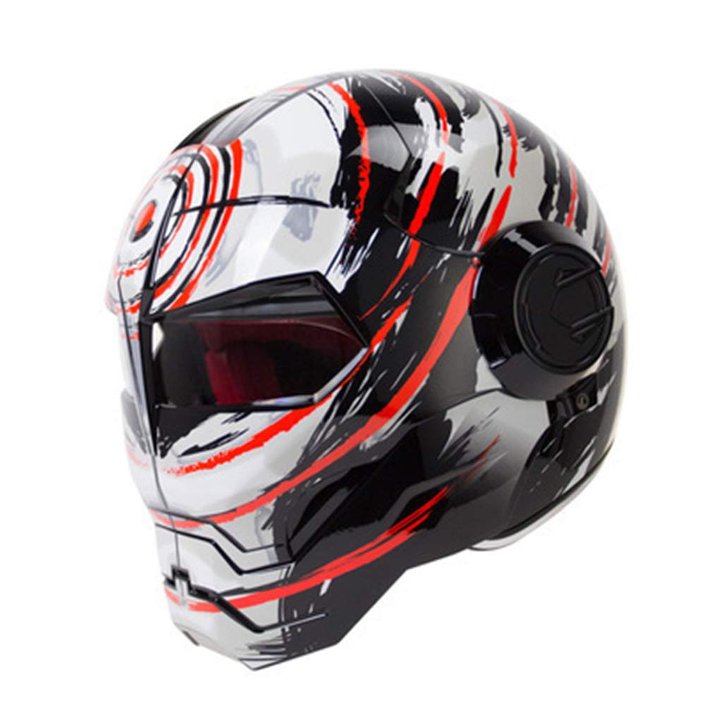 オートバイヘルメット オフロードオートバイレーシングヘルメット フルフェイスダンピング 耐久性 モータースポーツヘルメット 多色選択 快適 B07QWT9P85 Medium|カラー11 カラー11 Medium