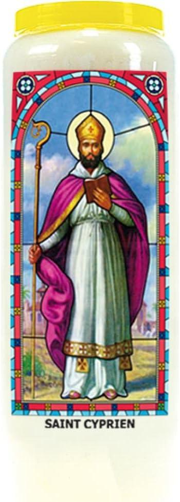 Dg-Exodif Neuvaine vitrail : Saint Cyprien
