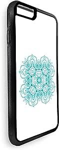 ديكالاك ايفون 8 بتصميم رسوم زخرفية ، وردة - متعدد الالوان