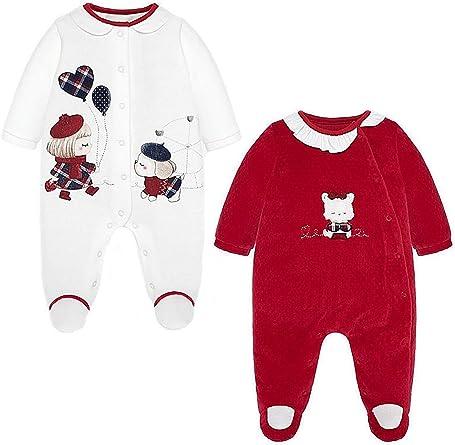 Mayoral 19-02706-078 - Pijama para bebé niña 0-1 Mes: Amazon ...