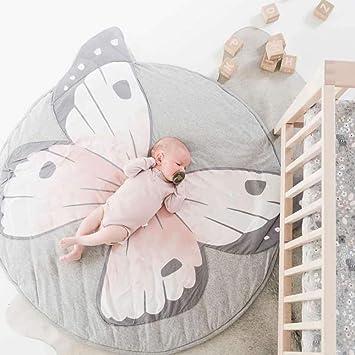 Kaliya Juego de colchonetas para niños Juego Alfombra Redonda Alfombra Decoración del Cuarto del bebé