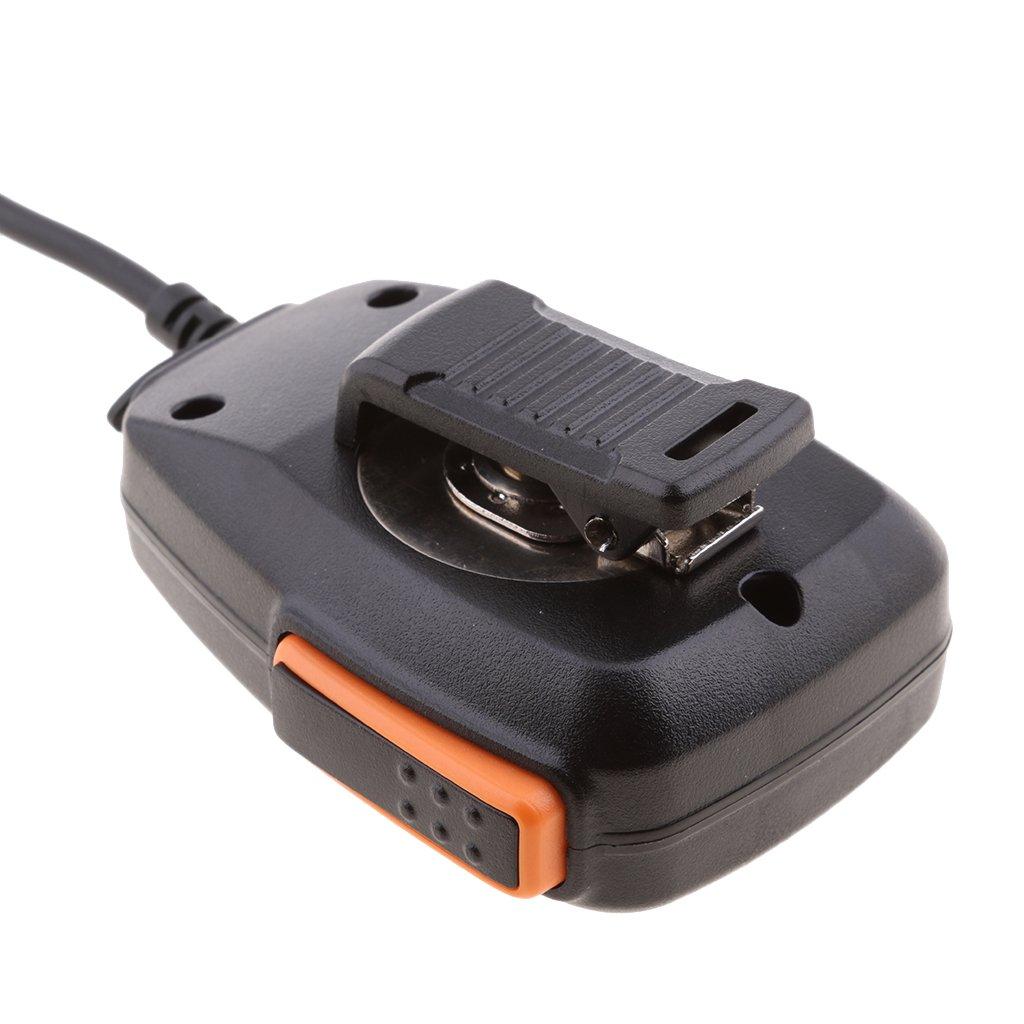 Baoblaze 2 Pin Rainproof Shoulder Speaker Mic for BaoFeng BTECH Kenwood 2-Way Radios