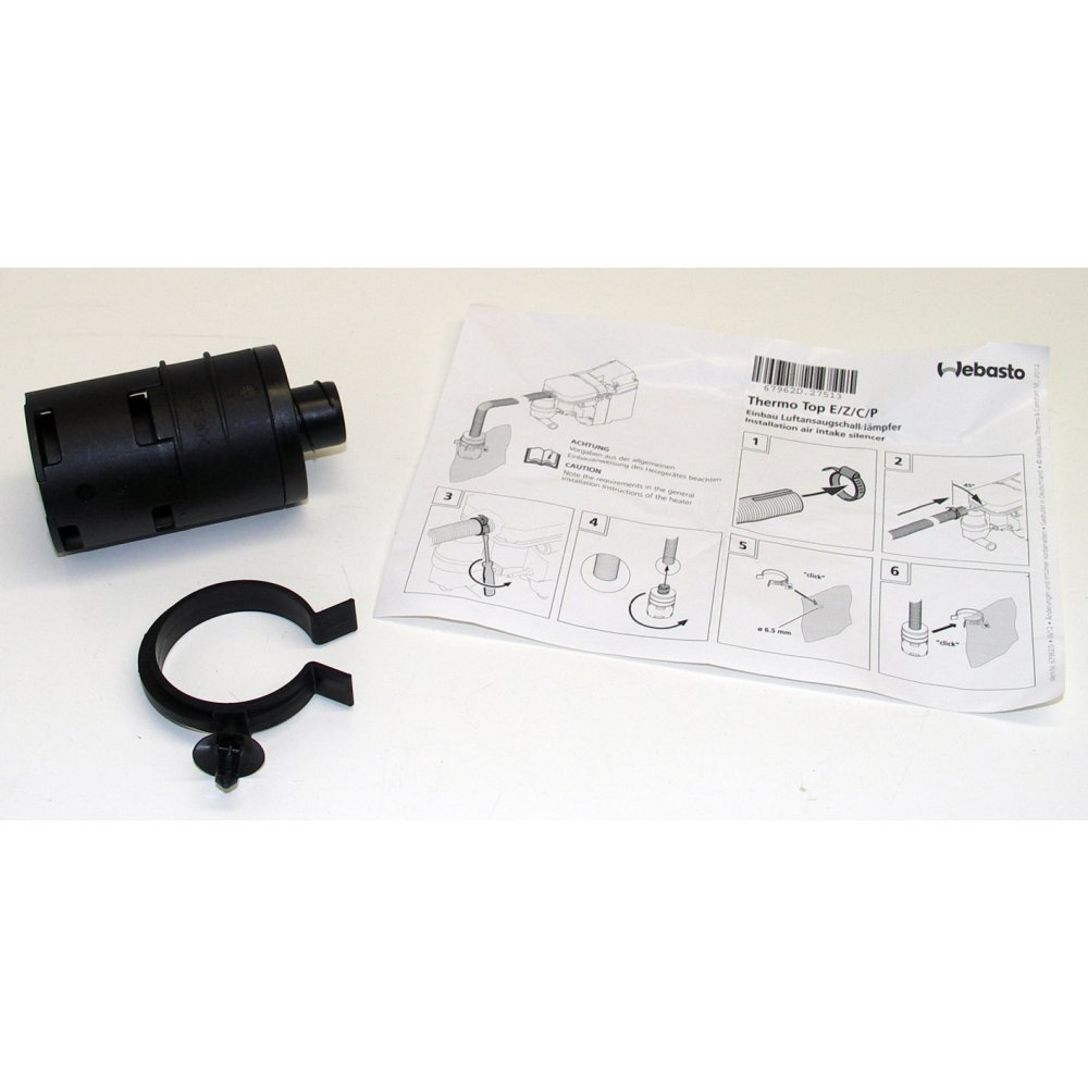 Webasto 98141A Ansaugschalldä mpfer Thermo Top E + C + P + Z Air Intake Silencer