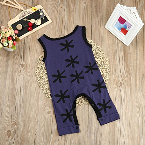 4907ce98335854 Fineser Toddler Kid Baby Girl Boy Summer One-Pieces Sleeveless Romper  Jumpsuit Outfits