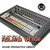 for ROLAND TR-808 - Large Original 24bit WAVE Studio Samples/Loops Studio Library on DVD or download