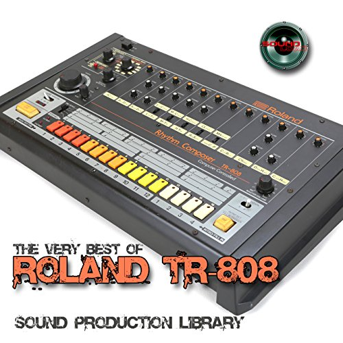 for ROLAND TR-808 - Large Original 24bit WAVE Studio Samples/Loops Studio Library on DVD or -