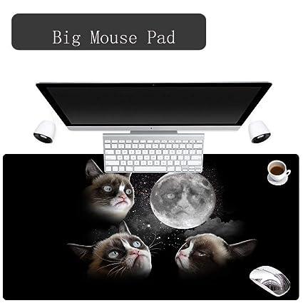 Alfombrilla de ratón de goma personalizada Cat 300X700X2MM Hello ...
