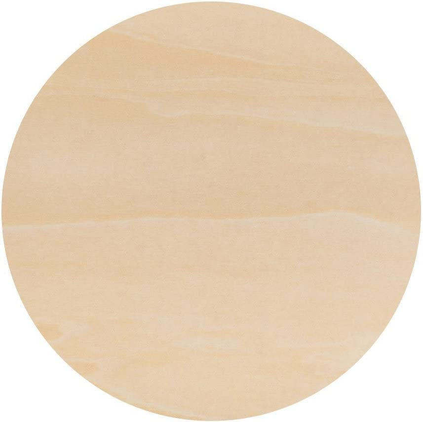 by Woodpeckers Unfinished Round Wood Circle Cutout 14 Inch Bag of 2