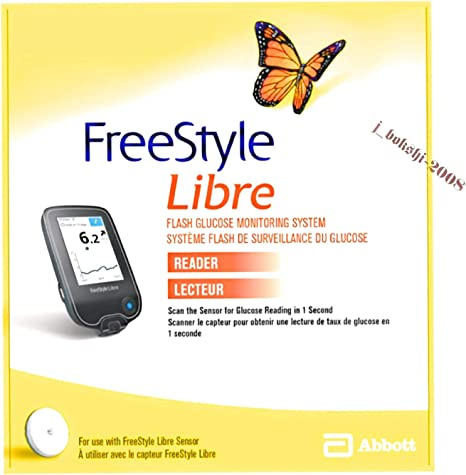 Abbott Freestyle Libre Flash Lettore Di Glucosio Amazon It Salute E Cura Della Persona