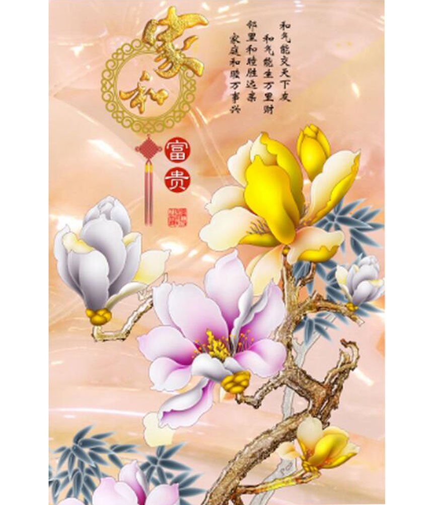 1000 Piece Jigsaw Puzzle for Home Decor  Lily Flowers
