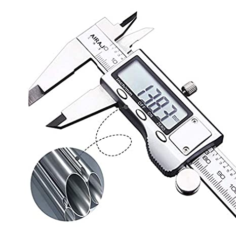 6 Inch//150mm LCD Digital Vernier Caliper Micrometer Measurement SS Water Proof