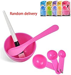 Koalcom Beauty Face Mask Mixing (Mask Bowl+Stick+Brush+Meter) Set Care Tool