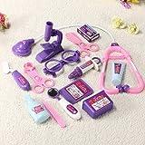 Baby Pretended Doctor Medical Play Set Carry Case Medical Kit // bebé fingió juegos médicos médico fijó & carry caso botiquín mé