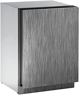 """product image for U-Line U2224ZWCINT60B 24"""" Built-in Wine Storage, Integrated"""