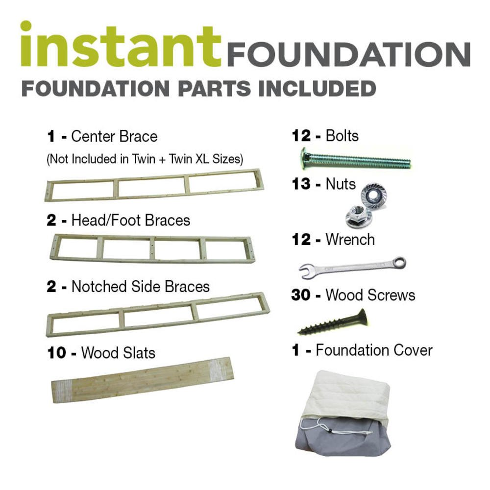 Classic Brands Instant Foundation High Profile 8-Inch Box-Spring Replacement, Full by Classic Brands (Image #6)