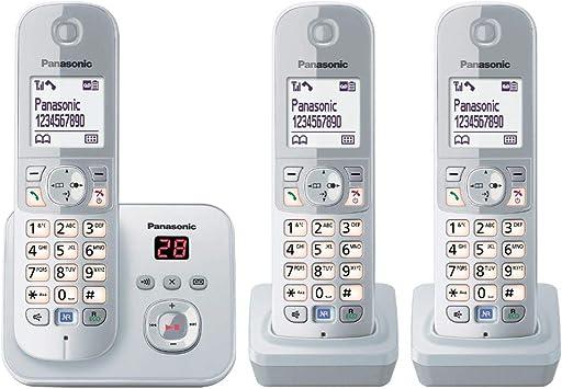 Panasonickx Tg6823gs Dect Schnurlostelefon Mit Elektronik
