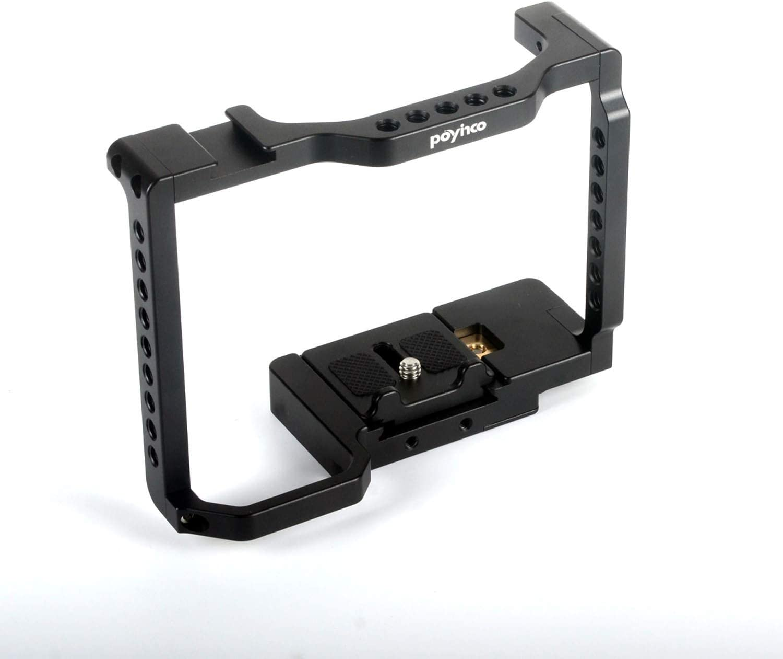 Premium Camera Accessories Camera Holder Camera Rabbit Cage Protective Jacket SLR Camera SLR Camera Fast Installation Camera Accessories Camcorder Action Vidio Accessories Color : Black