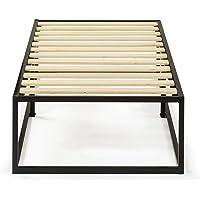 Zinus Joseph 14 Inch Metal Platforma Bed Frame / Mattress Foundation / Wood Slat Support / No Box Spring Needed / Sturdy Steel Structure, Narrow Twin