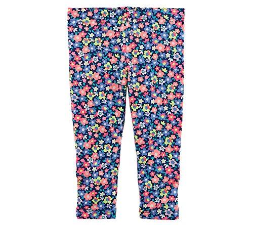 Carter's Girls' 2t-5t Floral Leggings 3T