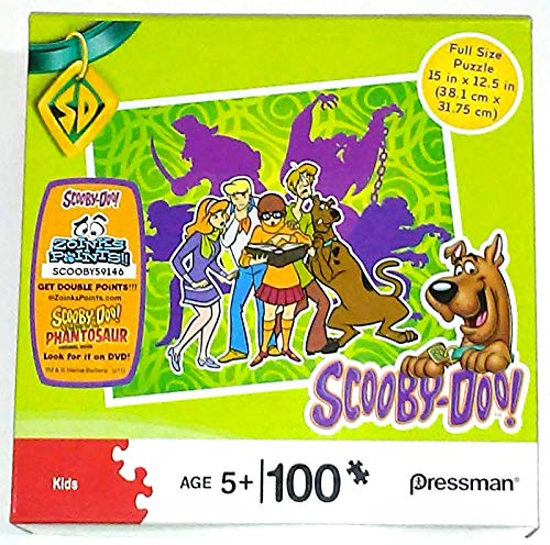 Scooby Doo Items - Scooby Doo 100 Piece Jigsaw Puzzle (DISCONTINUED) Scoob Shaggy Velma Fred Daphne Reading Ancient Haunted Book of Ghost Stories - Pressman Hanna Barbera Warner Bros 2011
