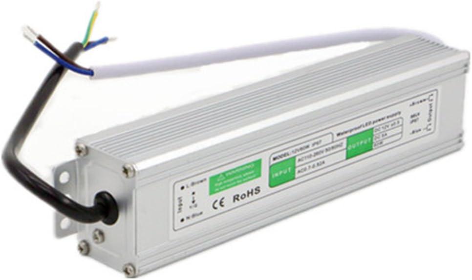 IP67 Imperm/éable /à leau LED Lumiere Commutation Adaptateur dalimentation Commutateur de Commutation Alimentation Pilote pour laffichage LED DC12V 0.8A 10W
