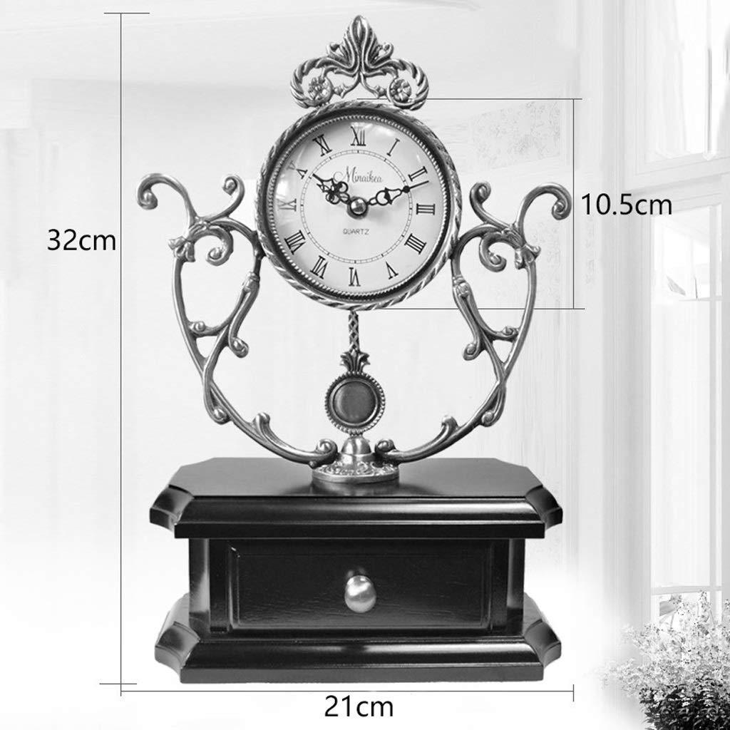 A-ZHP Reloj de Escritorio - Cobre Puro Feng Shui Reloj de Gama ...