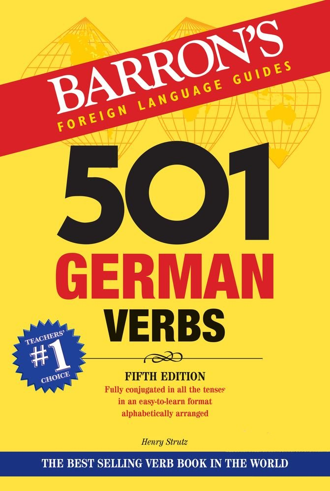501 German Verbs  Barron's 501 Verbs
