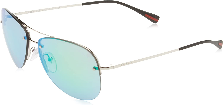 Prada Linea Rossa 0PS 50RS, Gafas de Sol Unisex adulto