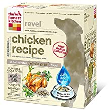 The Honest Kitchen Revel Organic Whole Grain Dog Food - Natural Human Grade Dehydrated Dog Food, Chicken, 4 lbs (Makes 16 lbs)
