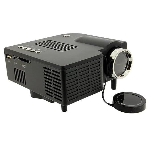 yaufey60 beweglicher Mini de LED HD Proyector Cine Teatro, ayuda ...