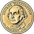 2007 D Washington Presidential Dollar Choice Uncirculated
