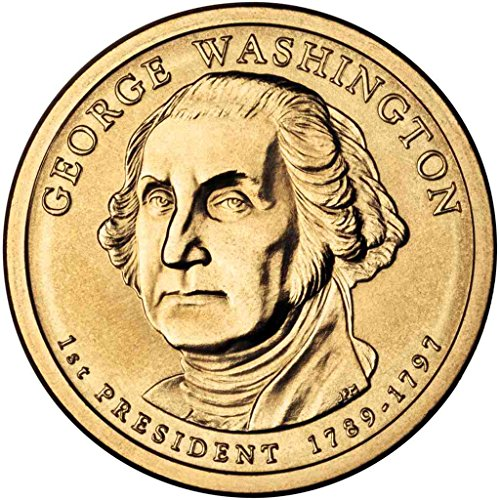 2007 D Washington Presidential Dollar Choice Uncirculated 2007 George Washington Coin