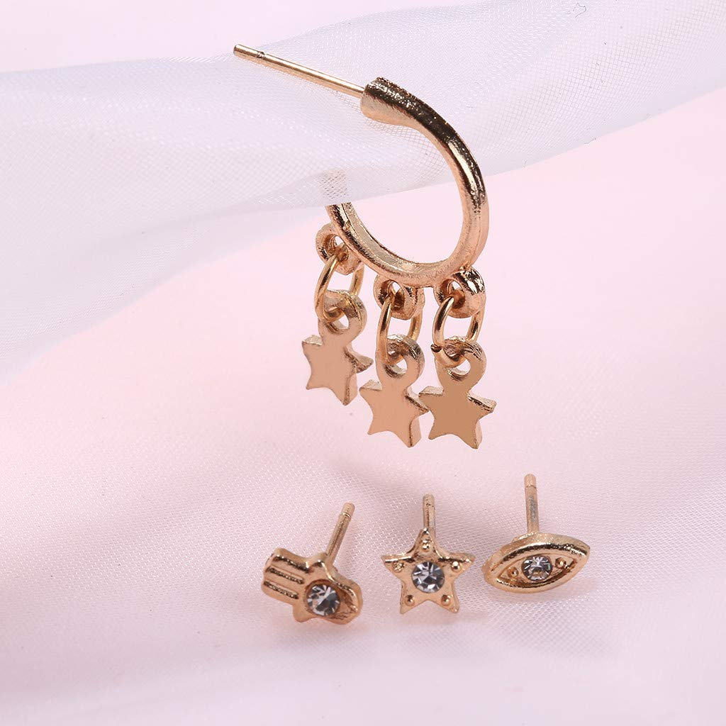 Fashion Long Dangle Drop Earrings Circle Ball Stud Earrings For Women Girls Gift