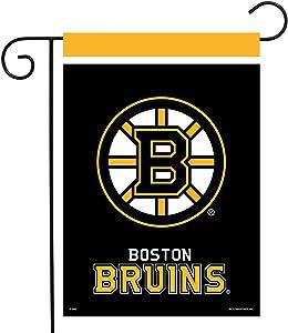 "Sparo Boston Bruins Garden Flag Hockey Licensed 12.5"" x 18"""