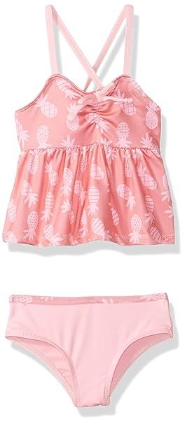 Amazon.com: Traje de baño de color rosa platino para bebés y ...