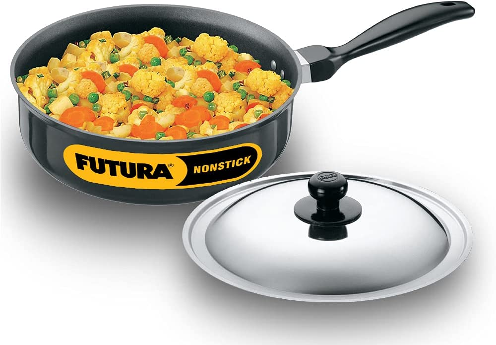 Futura Non-Stick Curry Pan Saute 3-1 with Recommendation Litre 4 Li Super special price Steel
