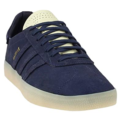 f6fd641d0030a1 adidas Mens Gazelle Crafted Casual Athletic   Sneakers Blue
